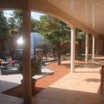 Prenez une pause détente dans notre patio !