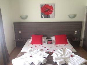 Chambre romantique Lit
