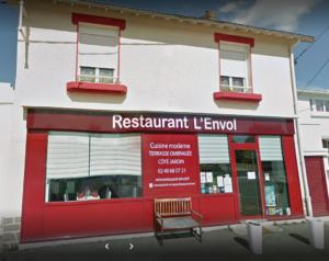 Façade Restaurant l'Envol Thouaré Sur Loire