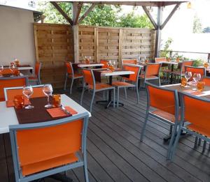 Terrasse Restaurant l'Envol Thouaré sur Loire